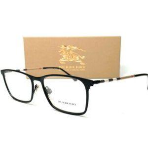 Burberry Men's Black Rubber Eyeglasses!